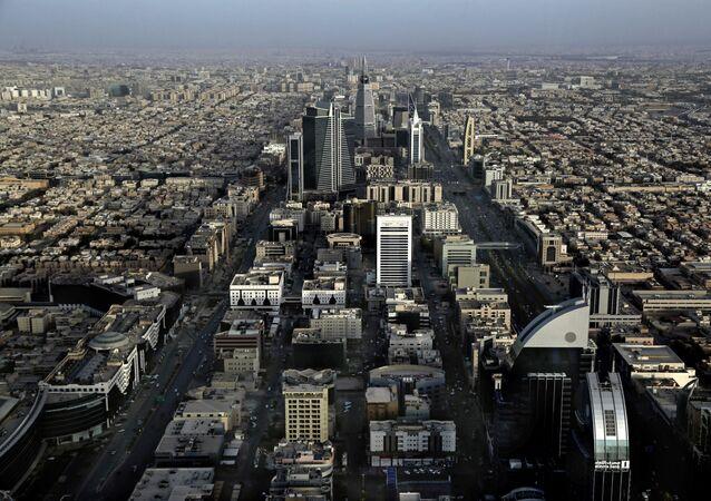This June 23, 2018 photo, shows a general view of Riyadh, Saudi Arabia