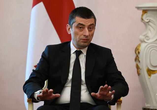 Georgian Prime Minister Giorgi Gakharia
