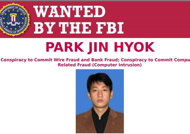 FBI wanted poster for suspected North Korean hacker Park Jin Hyok