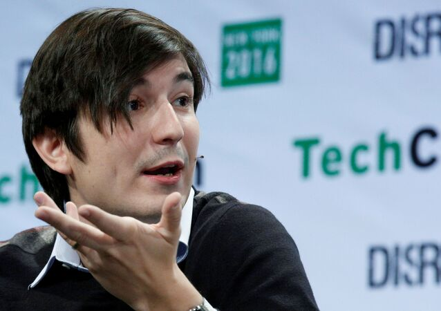 FILE PHOTO: FILE PHOTO: Vlad Tenev, co-founder and co-CEO of investing app Robinhood, speaks during the TechCrunch Disrupt event in Brooklyn borough of New York, U.S., May 10, 2016. REUTERS/Brendan McDermid/File Photo