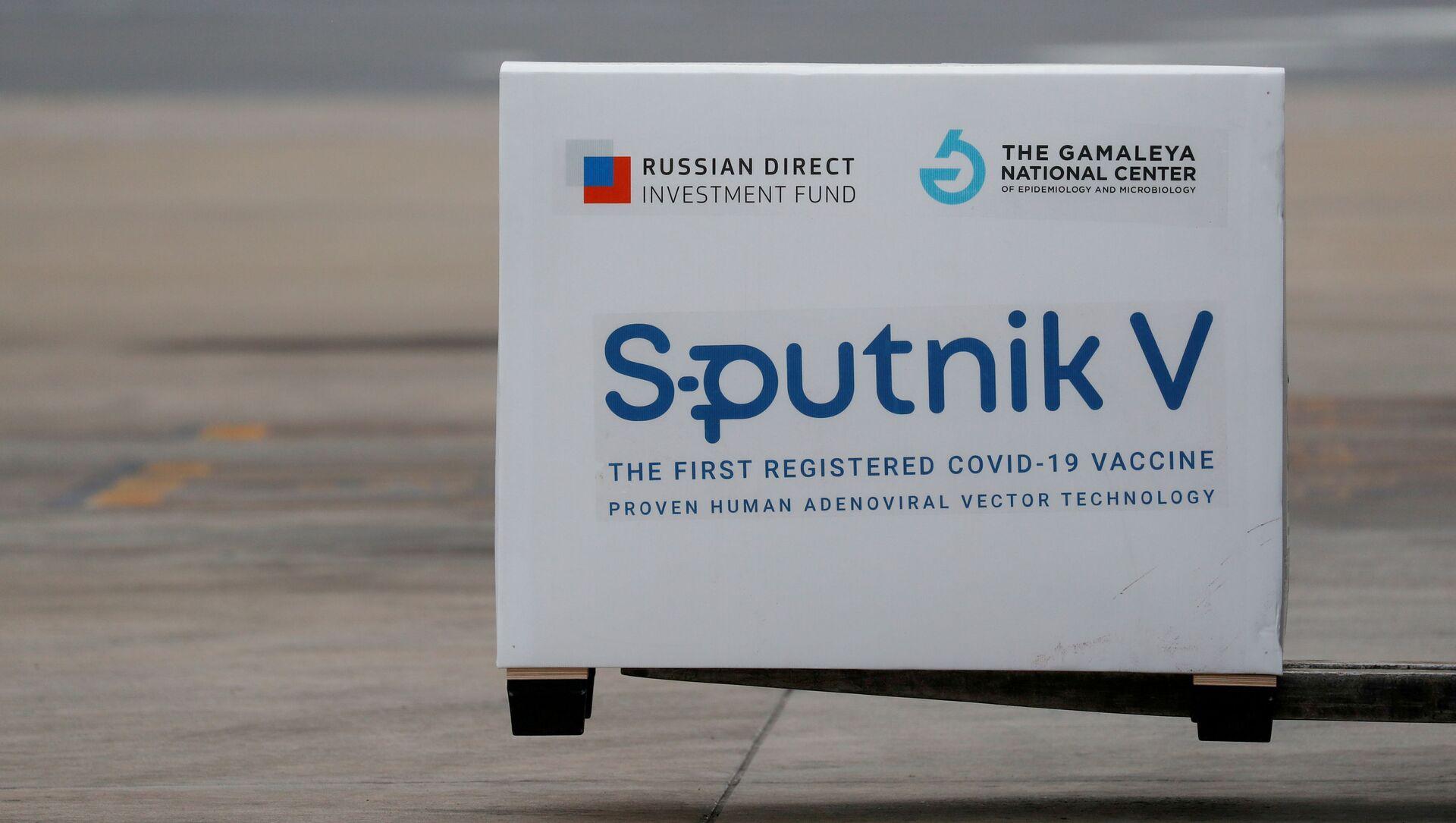 A shipment of doses of the Sputnik V (Gam-COVID-Vac) vaccine against the coronavirus disease (COVID-19)  - Sputnik International, 1920, 23.07.2021