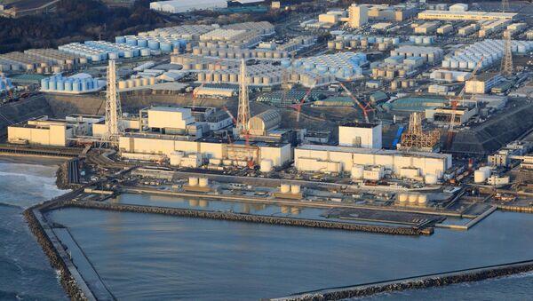 Fukushima Daiichi nuclear power plant in Okuma town - Sputnik International