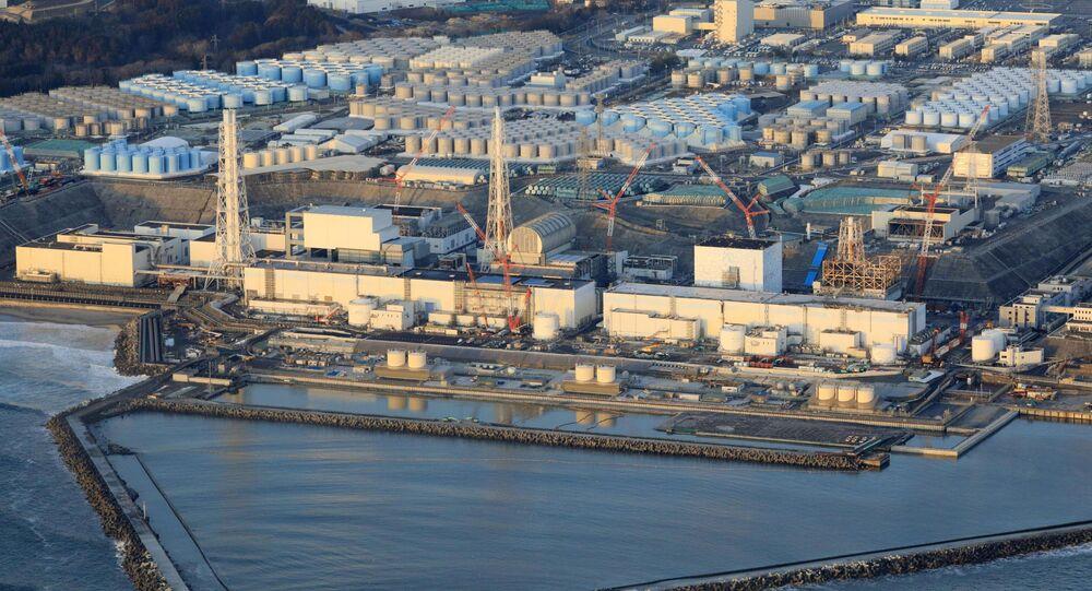 Fukushima Daiichi nuclear power plant in Okuma town