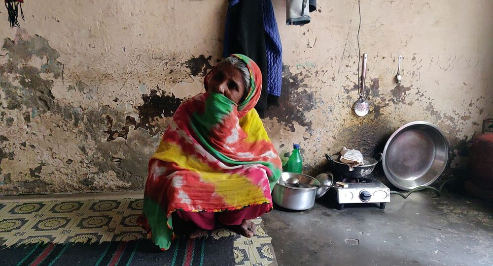 Noor Jahan lost her 26-year-old son, Jameel Mohammad, during the Delhi communal clashes in February 2020.