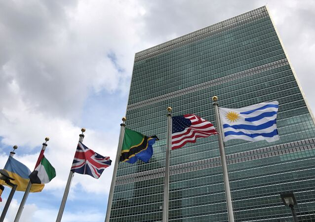 The United Nations building is pictured in New York, New York, U.S