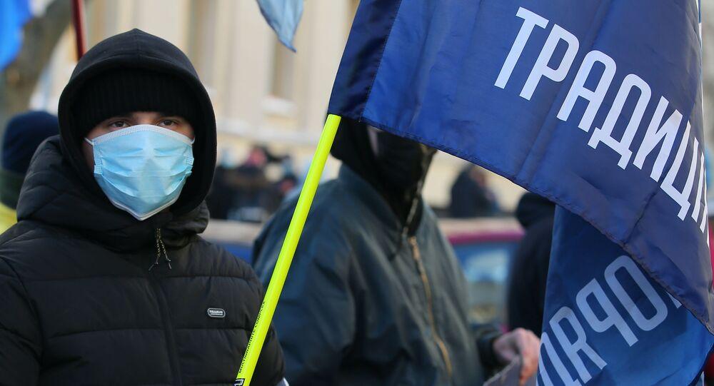 Nationalist demonstration in Kiev