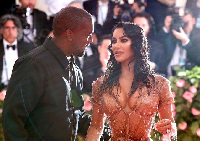 Metropolitan Museum of Art Costume Institute Gala Notes on Fashion- Arrivals - New York City, U.S. – May 6, 2019 - Kim Kardashian and Kanye West