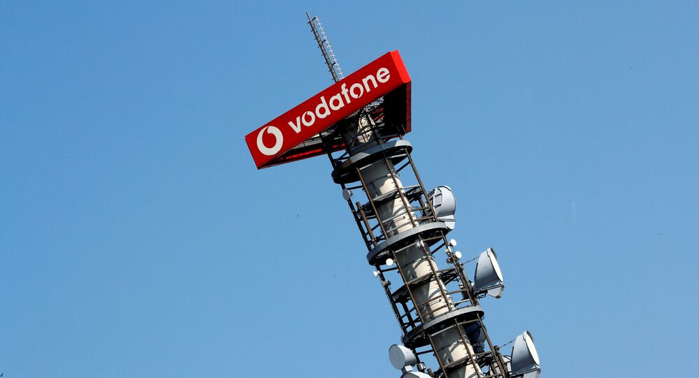 Different types of 4G, 5G and data radio relay antennas for mobile phone networks are pictured on a relay mast operated by Vodafone in Berlin, Germany April 8, 2019
