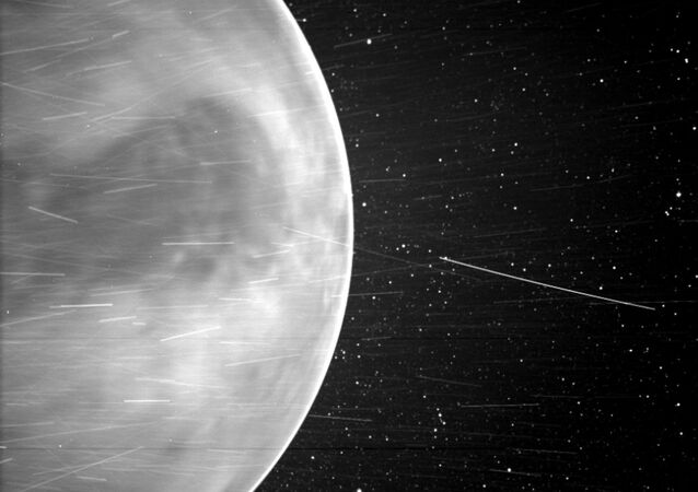 Image provided by the US' National Aeronautics and Space Administration offers a stunningly clear view of Venus during the third flyby of the Parker Solar Probe in July 2020.