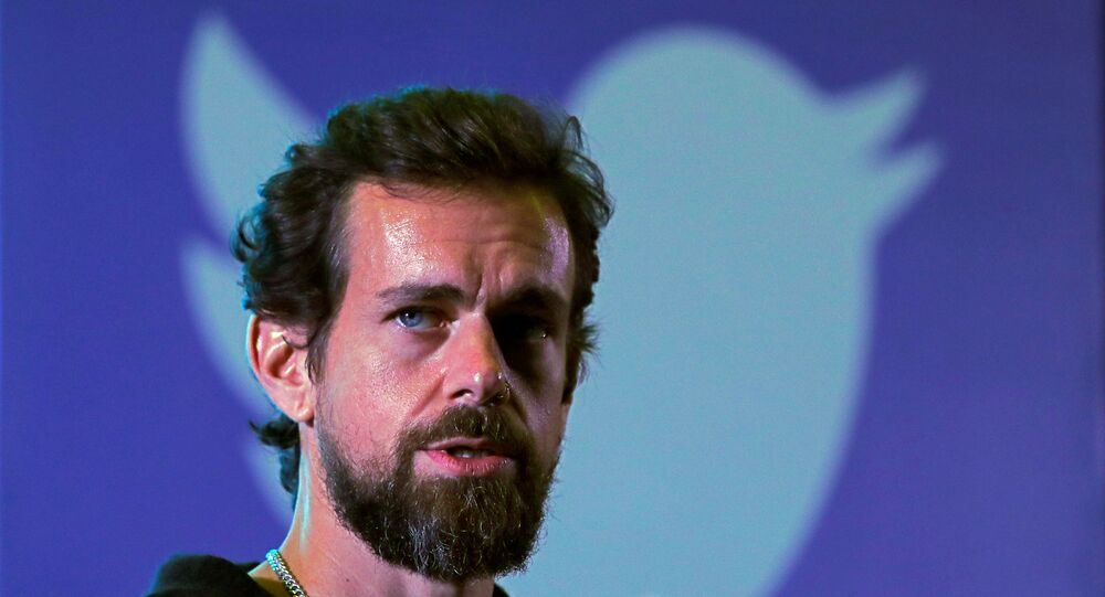 Twitter CEO Jack Dorsey addresses students during a town hall at the Indian Institute of Technology (IIT) in New Delhi, India, November 12, 2018