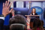 White House Press Secretary Jen Psaki delivers remarks during a press briefing at the White House in Washington, U.S., February 1, 2021.