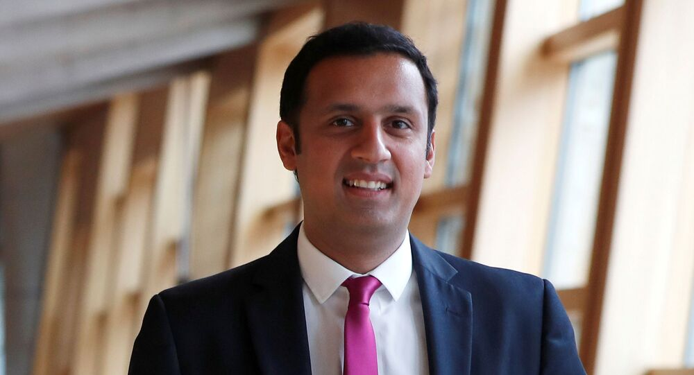 Anas Sarwar, the new leader of the Scottish Labour Party