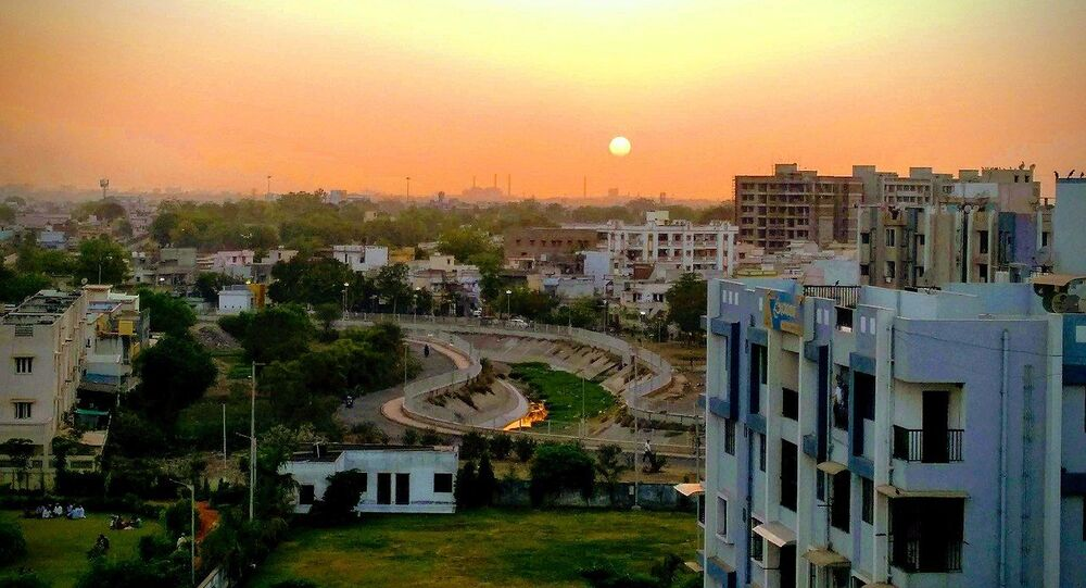 Sunset in Ahmedabad