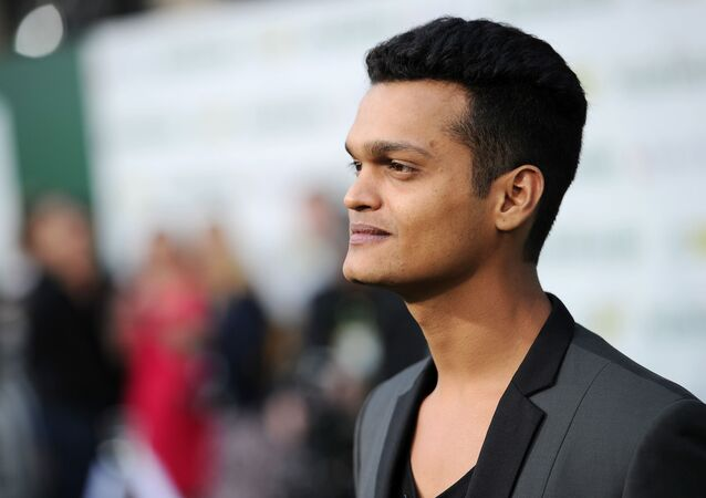 Madhur Mittal arrives at the world premiere of Million Dollar Arm at El Capitan Theatre on Tuesday, May 6, 2014, in Los Angeles