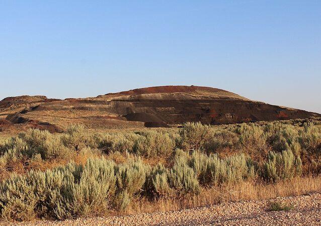 Black Rock Desert volcanic field, near Flowell, Utah