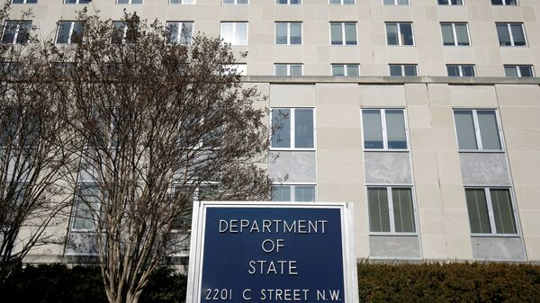 The State Department Building is pictured in Washington, U.S., January 26, 2017 - Sputnik International
