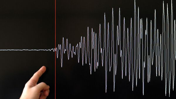Earthquake seismograph diagram - Sputnik International