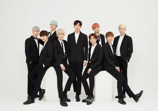 Members of SF9 K-pop boy band renewed their contracts with FNC Ent
