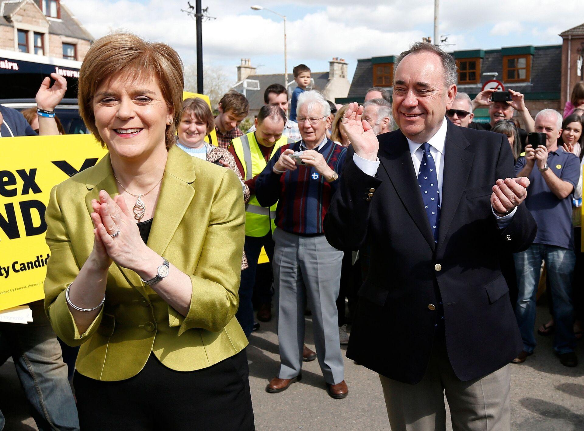 Salmond Says Scottish Nationalist Majority Could Seek 'Legal Action' if Westminster Rejects IndyRef2 - Sputnik International, 1920, 28.03.2021