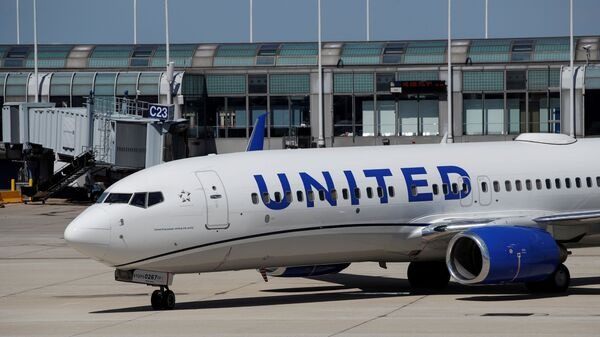A United Airlines Boeing 737-800 arrives at O'Hare International Airport in Chicago, Illinois, U.S. - Sputnik International