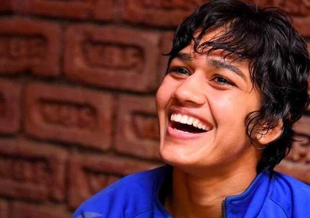 Indian female wrestler Babita Kumari Phogat