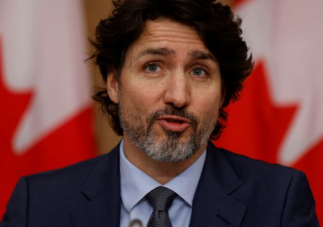 Canada's Prime Minister Justin Trudeau attends a news conference, as efforts continue to help slow the spread of the coronavirus disease (COVID-19), in Ottawa, Ontario, Canada March 5, 2021.