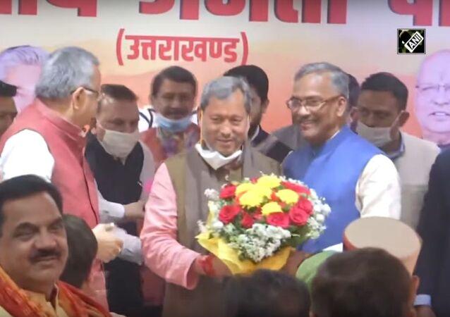 Tirath Singh Rawat elected new CM of Uttarakhand