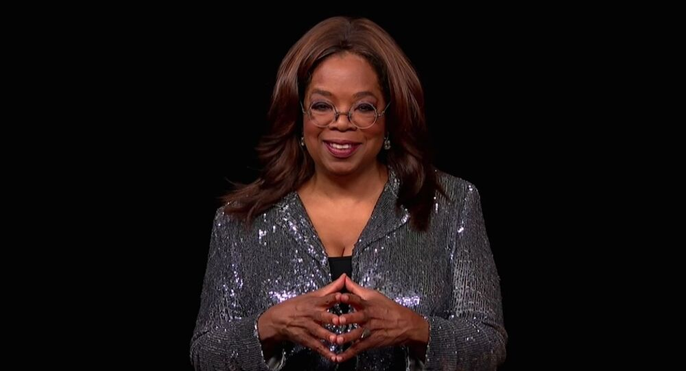 Oprah Winfrey presents the Governors Award during the 72nd Emmy Awards telecast on Sunday, Sept. 20, 2020 at 8:00 PM EDT/5:00 PM PDT on ABC.