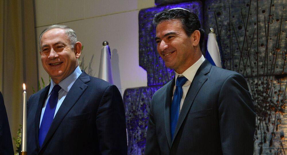 Israeli Prime Minister Benyamin Netanyahu and the head of Mossad, Yossi Cohen