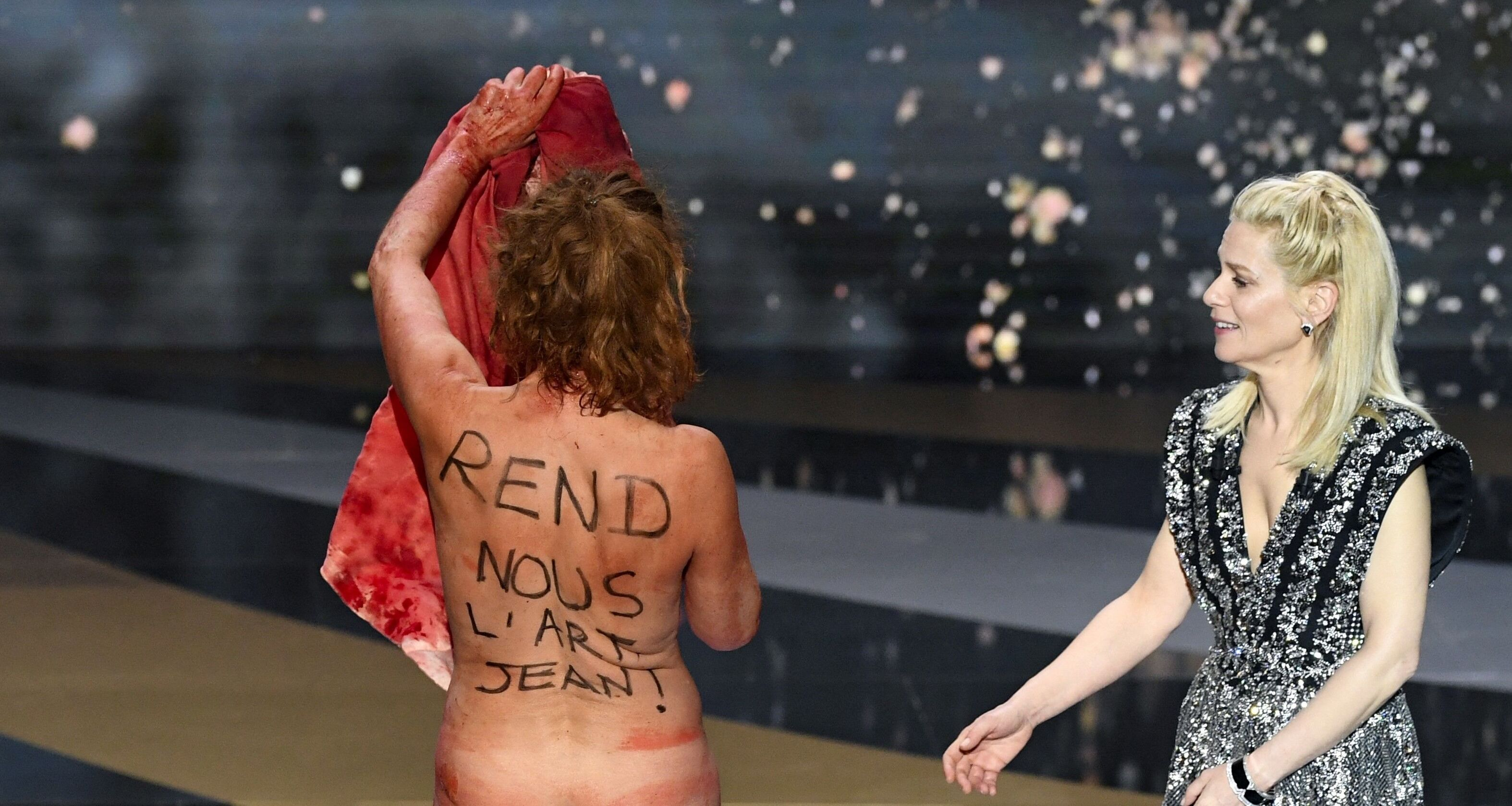 No culture, no future: Actress in naked lockdown protest