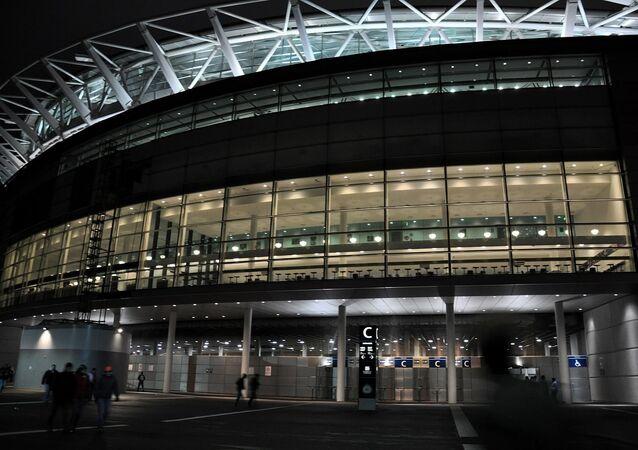 Outside Wembley Stadium
