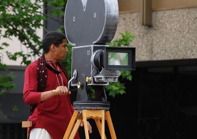 Bollywood cameraman
