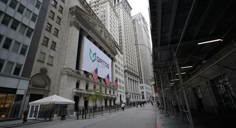 The New York Stock Exchange is seen, Wednesday, Oct. 28, 2020, in New York.