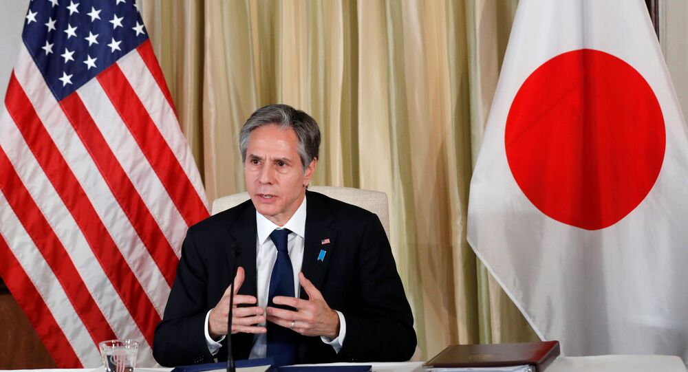 U.S. Secretary of State Antony Blinken visits Japan