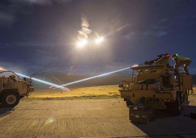 Light Dragoons Firepower on Warcop Ranges.