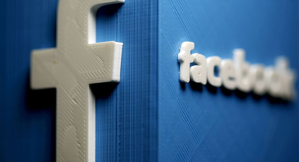 A 3D plastic representation of the Facebook logo is seen in this illustration in Zenica, Bosnia and Herzegovina, 13 May 2015. REUTERS/Dado Ruvic//File Photo/File Photo