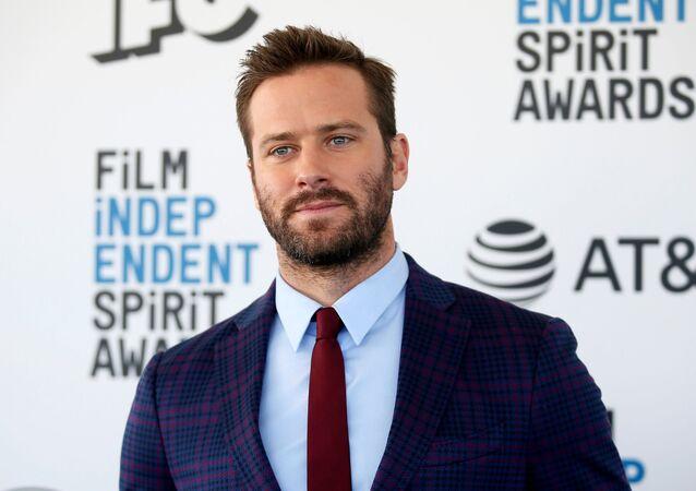 2019 Film Independent Spirit Awards - Arrivals - Santa Monica, California, US, 23 February 2019 - Armie Hammer