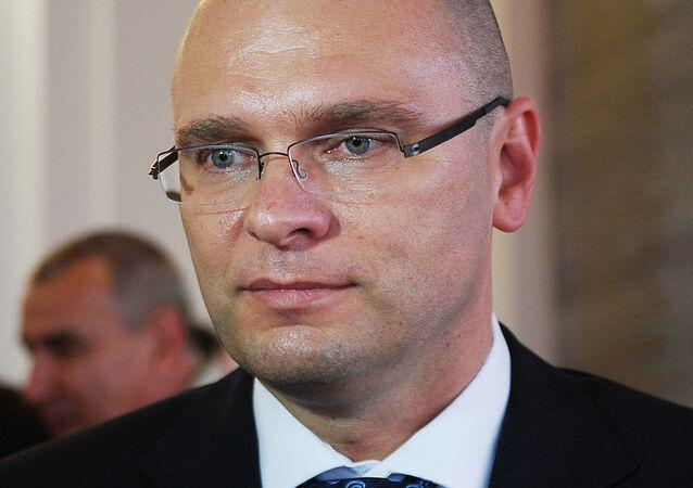 Slovakia's Economy Minister Richard Sulik
