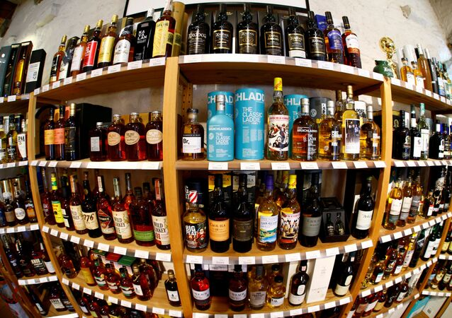 Bottles of single malt scotch whisky are pictured in a shop near Lausanne, Switzerland May 18, 2017