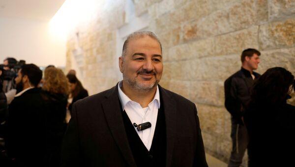 Mansour Abbas, who heads the United Arab List, known in Hebrew as Raam - Sputnik International