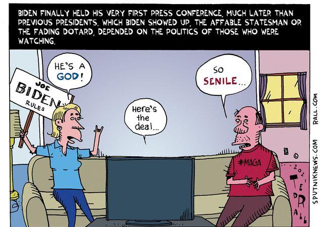 Lights, Camera, Biden