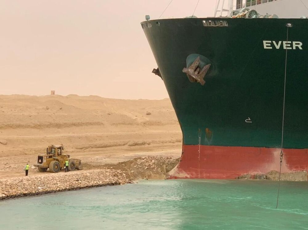 Major Inconvenience: Behold Ever Given, The Ship Blocking Suez Canal
