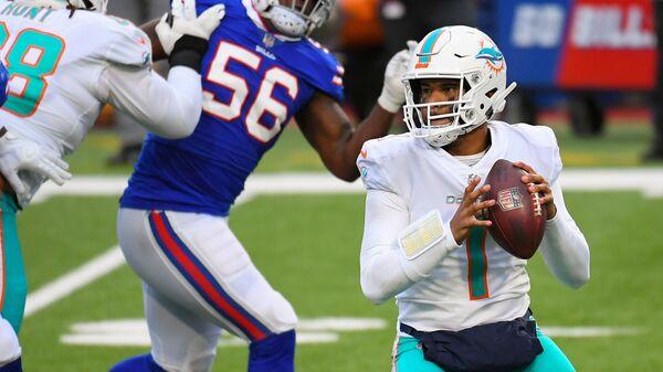 Miami Dolphins quarterback Tua Tagovailoa - Sputnik International