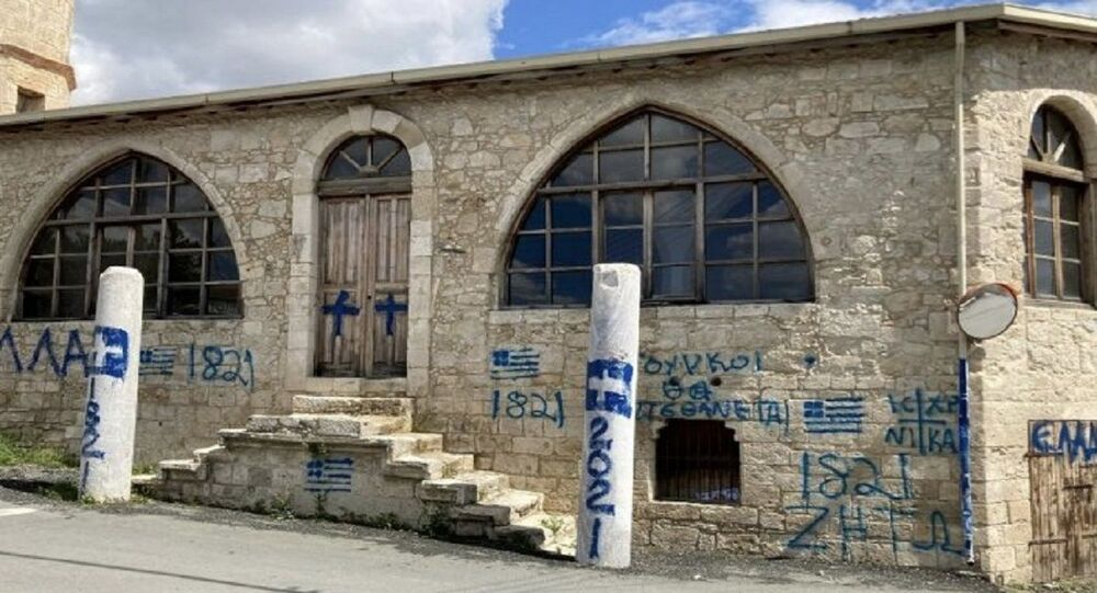 Turkey Condemns Act of Vandalism of Mosque in Southern Cyprus