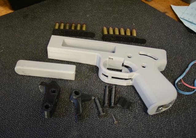 Songbird 3D Printed Pistol - .357 Magnum