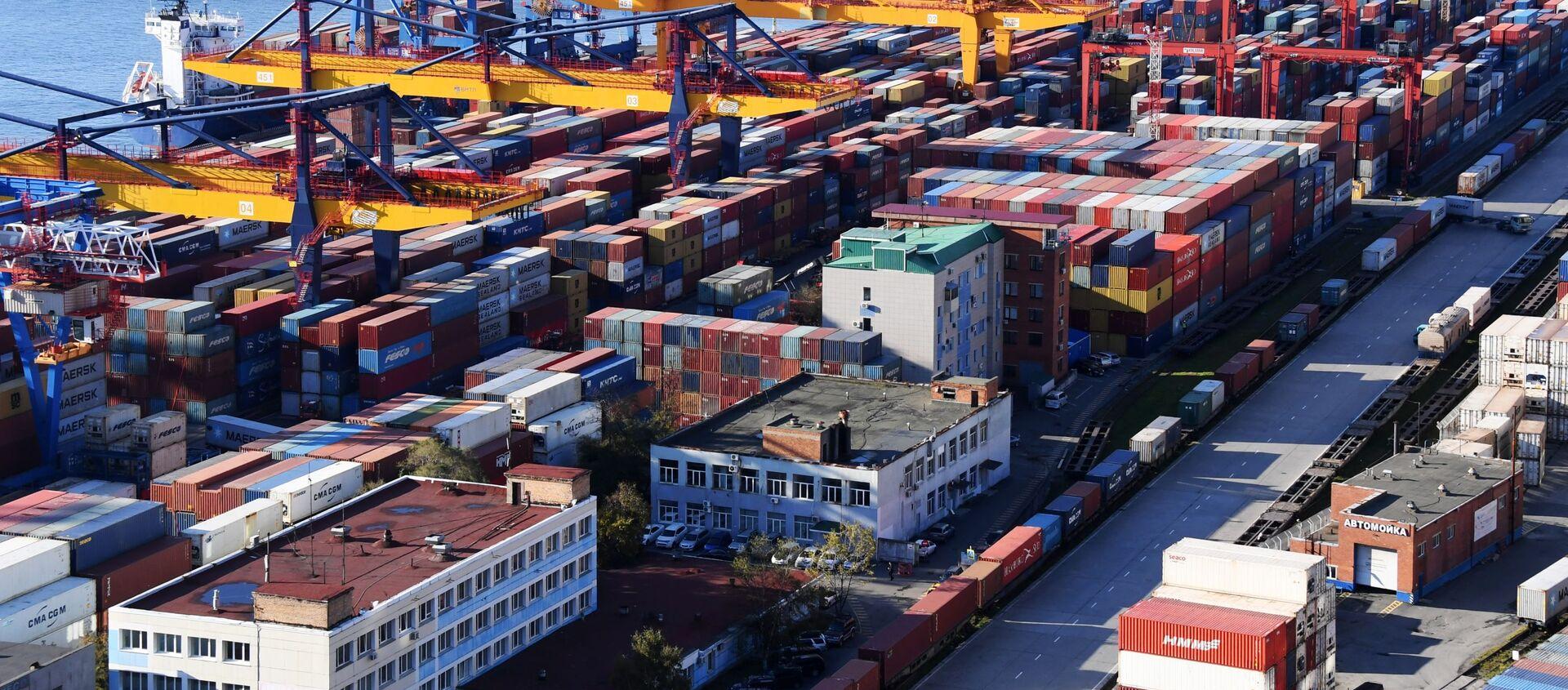 Vladivostok Commercial Port. File photo. - Sputnik International, 1920, 30.08.2021