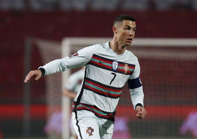 Portugal's Cristiano Ronaldo in action