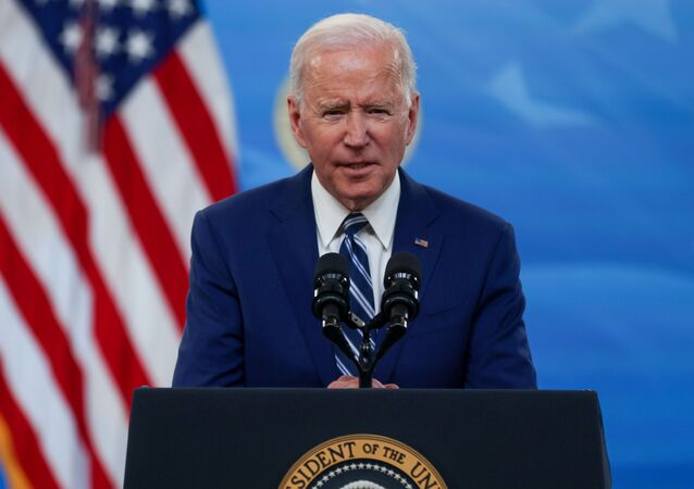 U.S. President Joe Biden delivers remarks after a meeting with his COVID-19 Response Team on the coronavirus disease (COVID-19) pandemic and the state of vaccinations, on the White House campus in Washington, U.S., March 29, 2021.