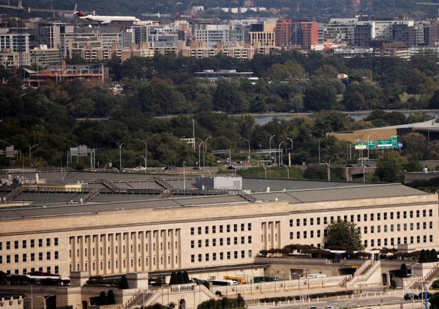 The Pentagon building is seen in Arlington, Virginia, U.S. October 9, 2020.