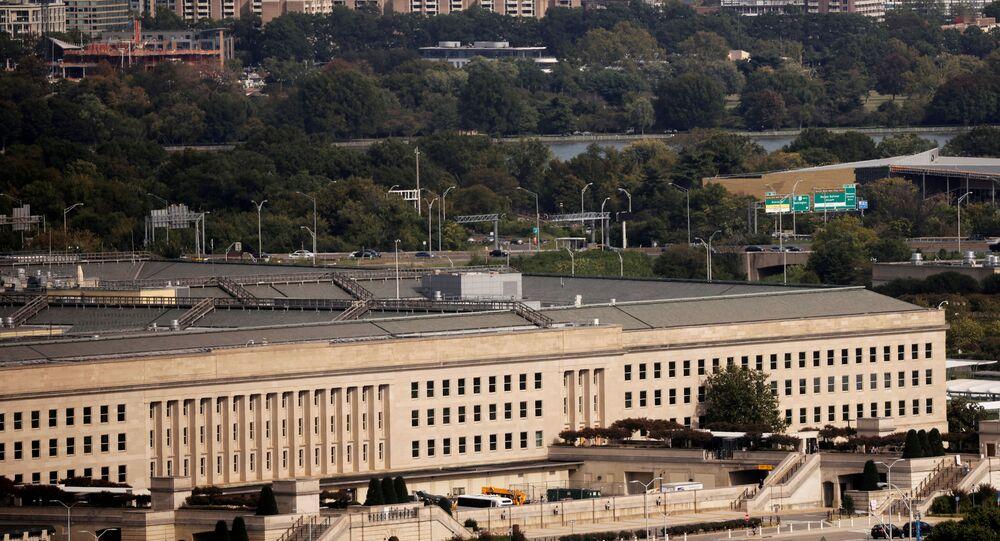 The Pentagon building is seen in Arlington, Virginia, U.S. October 9, 2020.